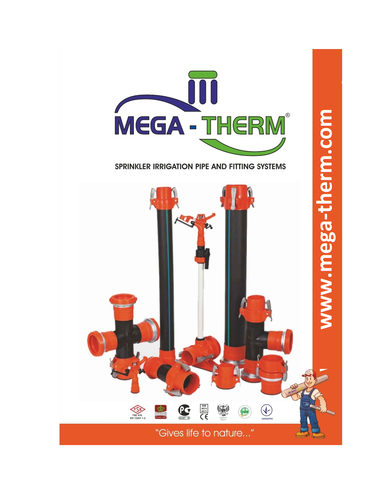 Mega-Therm Agricultural Pipes