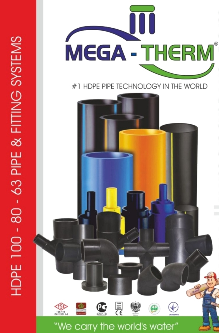 Mega-Therm HDPE Pipe & Fitting Systems