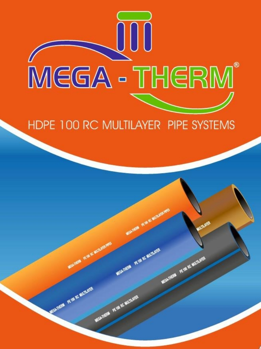 Mega-Therm HDPE RC Pipe & Fitting Systems