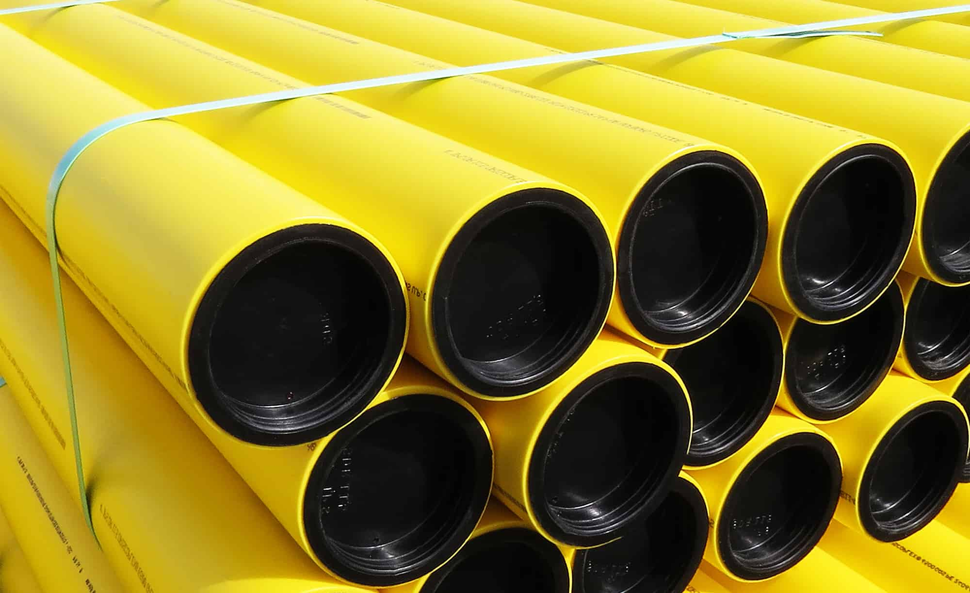 MEGA-THERM PE 80 NATURAL GAS PIPES - LENGTH